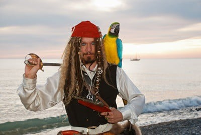 why did pirates keep parrots?